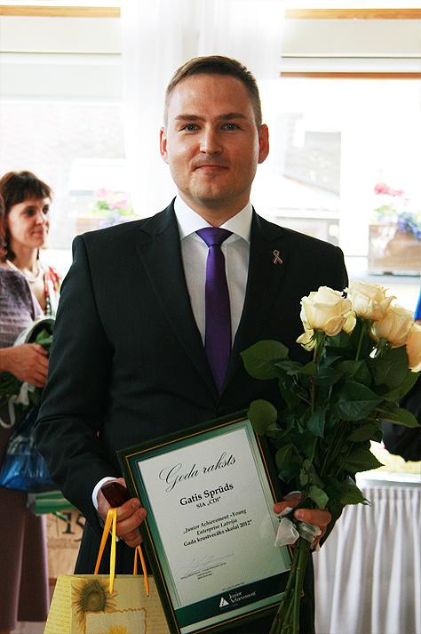 Gatis Sprūds - Gada krustvecāks 2012