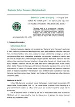 Referāts 'Individual Management Report. Starbucks Corporation Ltd. Marketing Audit and Str', 21.