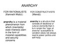Prezentācija 'Alexander Wendt:  Anarchy Is what States Make of It: The Social Construction of ', 8.