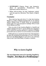 Referāts 'How We Learn English. Two English Languages', 9.