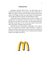 Referāts 'McDonald's Brand Analyse', 3.