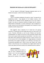 Referāts 'McDonald's Brand Analyse', 4.