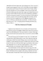 Referāts 'The Origin of Canada and Native Canadians ', 8.