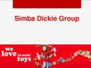Referāts 'Analysis of Simba Dickie Group Enterprise', 9.