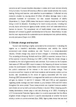 Referāts 'Dealing with Security, Effect of Natural Disasters and Global Warming on Tourism', 8.
