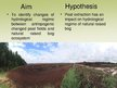 Prezentācija 'The Peat Extraction Impact on Hydrological Regime of the Raised Bog', 5.