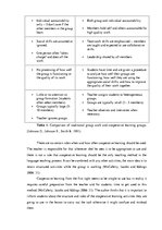 Diplomdarbs 'Using Cooperative Learning Strategy - The Round Table, in Teaching English Vocab', 23.