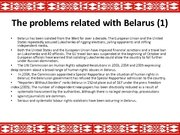 Prezentācija 'The Republic of Belarus and the European Union Partnership', 9.