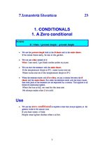 Referāts 'Conditionals, Infinitive or Gerund & The Passive Voice', 3.