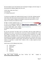Diplomdarbs 'Role of Band Strategy Development in European Airline Industry', 9.