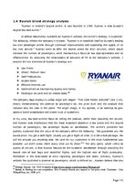 Diplomdarbs 'Role of Band Strategy Development in European Airline Industry', 31.