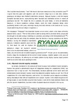 Diplomdarbs 'Role of Band Strategy Development in European Airline Industry', 33.