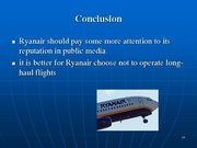 Prezentācija 'Ryanair Cost Leadership Position and Bussiness Strategy', 16.