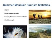 Referāts 'The Possibility of Sustainable Tourism Development in Mountain Tourism', 19.