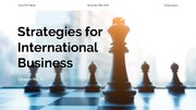 Prezentācija 'Strategies for International Business', 1.