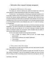 Referāts 'Analytical Report of an Interview of a Chief Executive Officer of Creative Indus', 4.